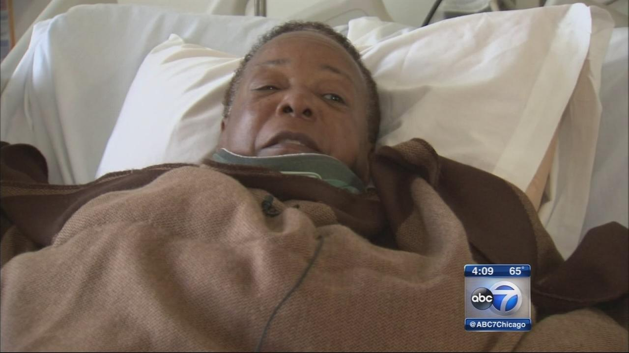 Injured King Drive crash victim speaks from hospital bed