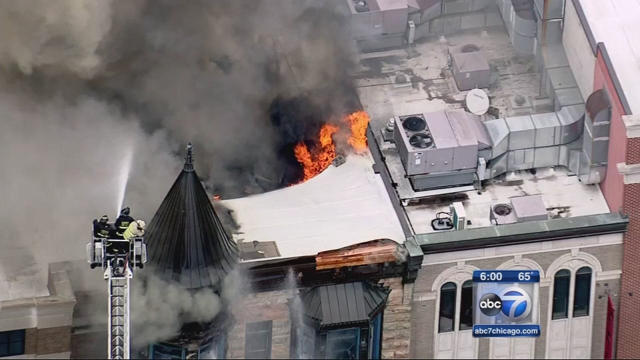 Crews strike out Old Town fire