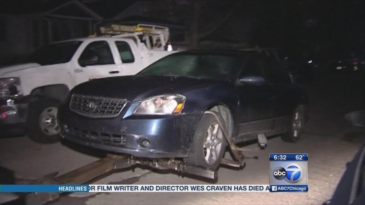 Car possibly involved in Willowbrook attack found