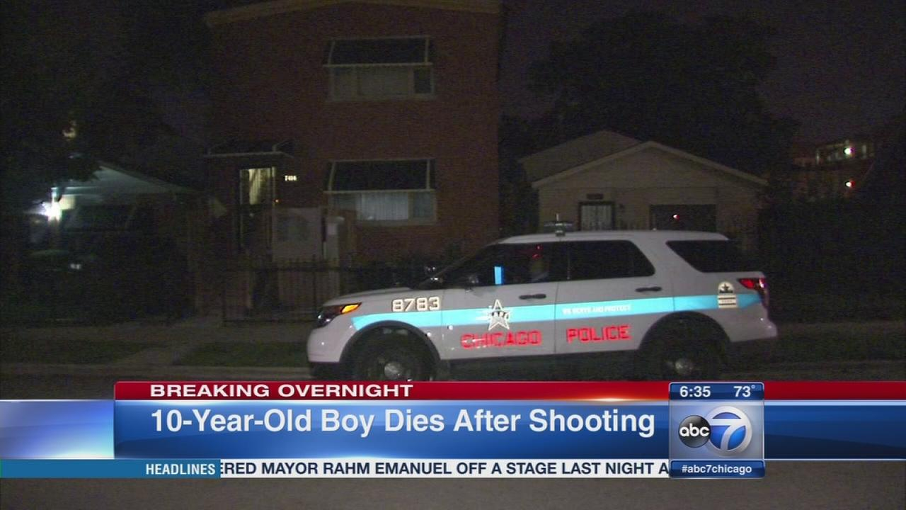 Boy dies after accidental shooting in Park Manor