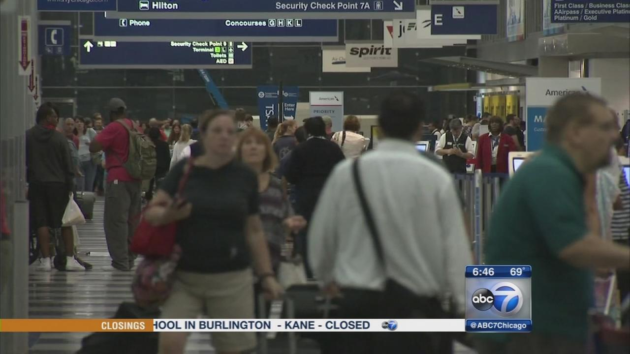 Labor Day travel kicks off