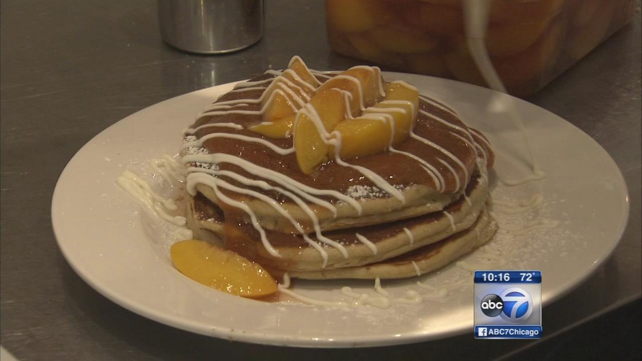 Bridgeport cafe takes advantage of peach season