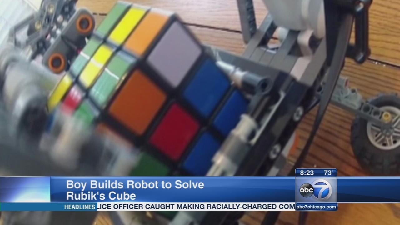 Rubiks Cube Robot