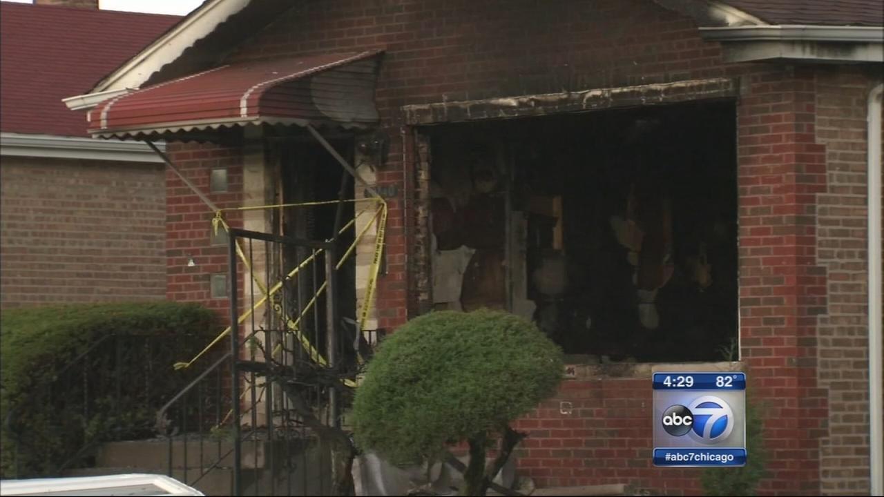 Morgan Park explosion, fire