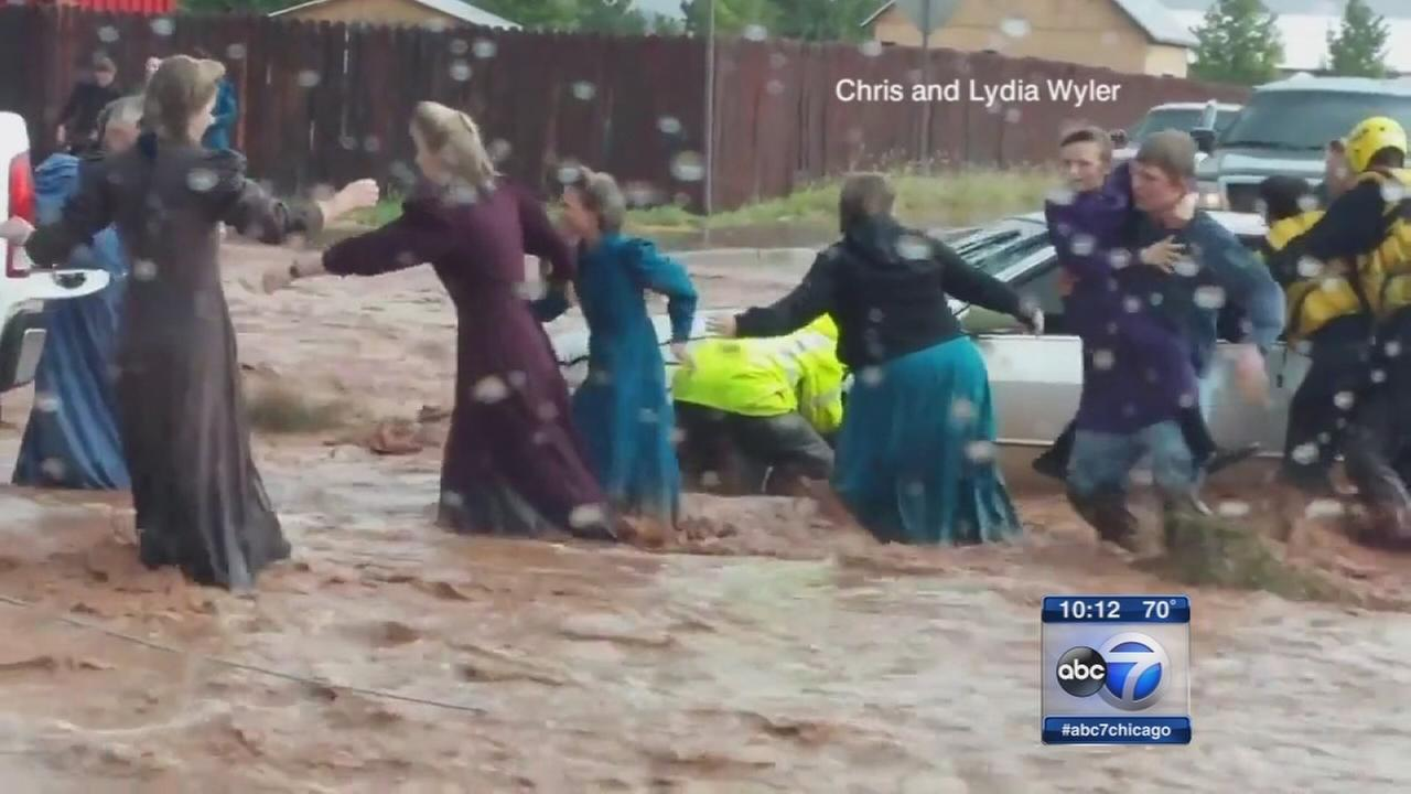 Utah flash floods kill at least 16