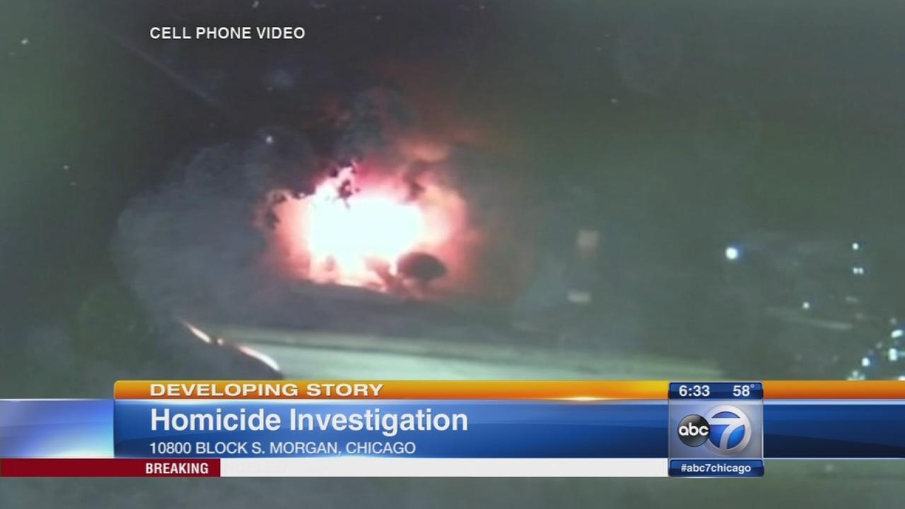 Homicide investigators looking into Morgan Park fire