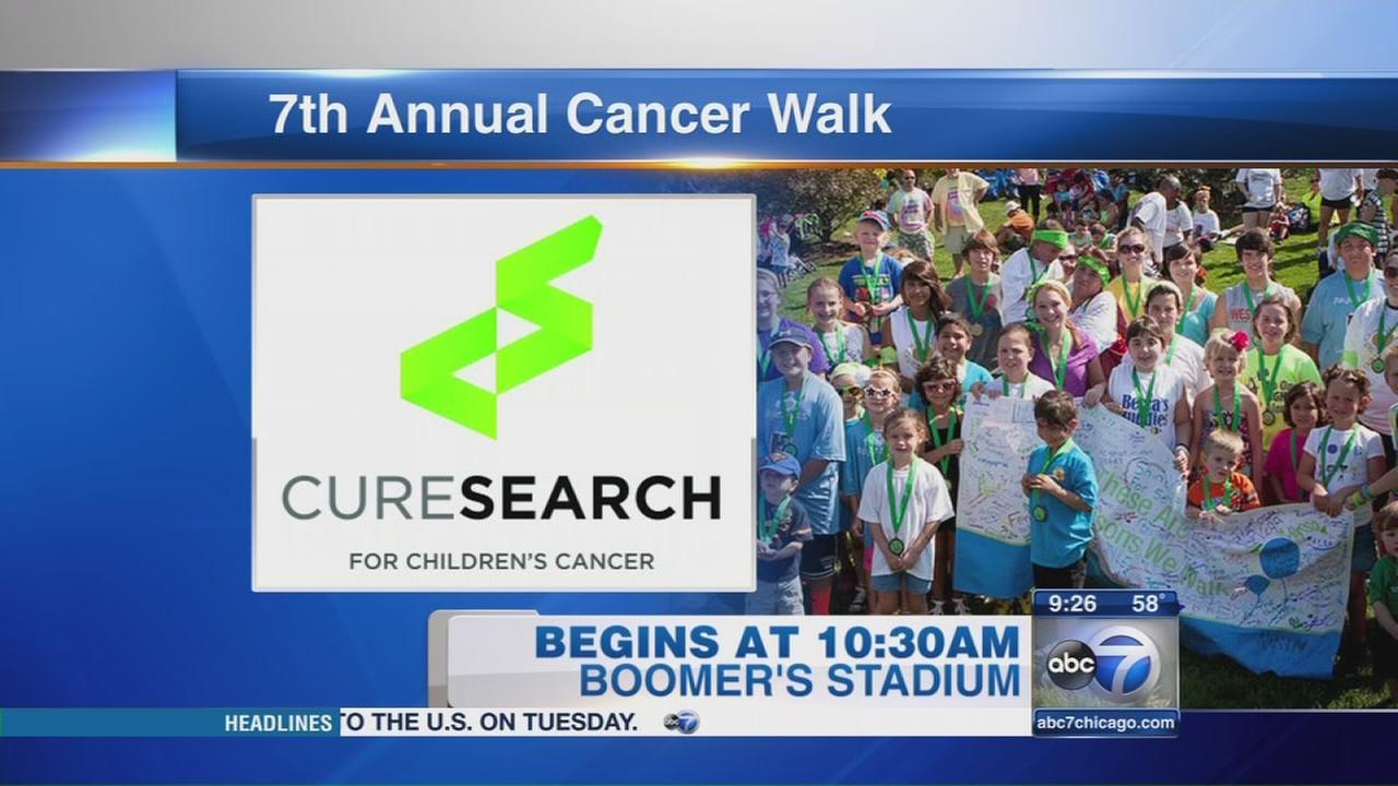 CureSearch walk