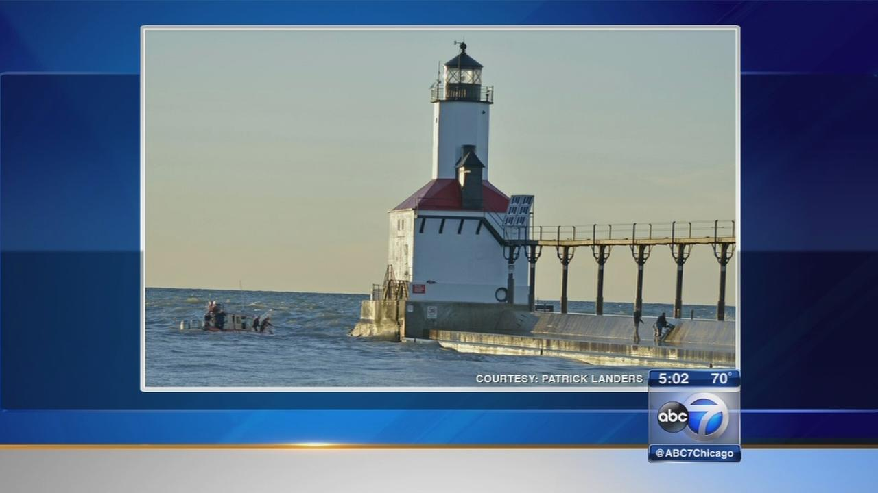 Indiana mans body found after being swept into Lake Michigan by wave