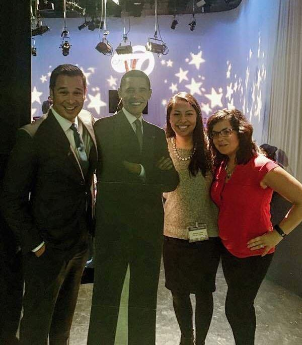 <div class='meta'><div class='origin-logo' data-origin='none'></div><span class='caption-text' data-credit='Ximena N. Larkin'>#BarackingAround at a luncheon at ABC 7 Chicago.</span></div>