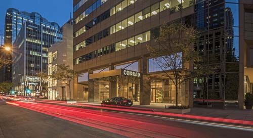 "<div class=""meta image-caption""><div class=""origin-logo origin-image none""><span>none</span></div><span class=""caption-text"">Conrad Chicago is celebrating its one-year anniversary by offering hotel rooms at a heavily-discounted rate. (Conrad Chicago)</span></div>"