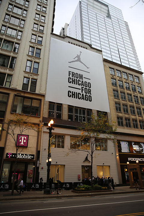 chicago readies for michael jordan store