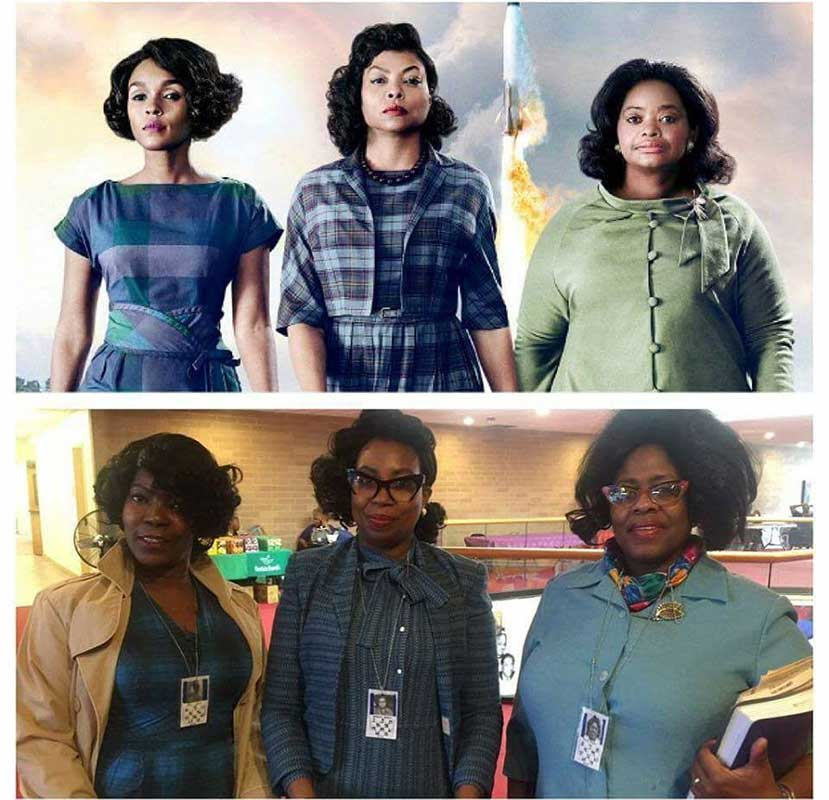"<div class=""meta image-caption""><div class=""origin-logo origin-image wls""><span>WLS</span></div><span class=""caption-text"">Paying honor to ""Hidden Figures."" (Latanda Lil-Bit Terry-Graves/Facebook)</span></div>"