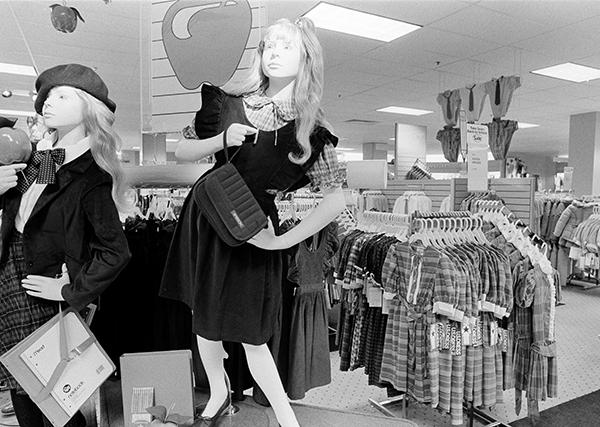 <div class='meta'><div class='origin-logo' data-origin='AP'></div><span class='caption-text' data-credit='AP Photo/David Fields'>Mannequins are shown as Sears, Roebuck & Co. unveiled their &#34;Store of the Future&#34; in King of Prussia, Pa., on July 21, 1983, acknowledging it was playing merchandising &#34;catch up.&#34;</span></div>