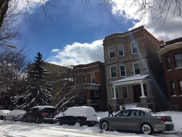<div class='meta'><div class='origin-logo' data-origin='WLS'></div><span class='caption-text' data-credit=''>Several inches of fresh snow blanketed the Lincoln Square neighborhood on Chicago's North Side on March 14, 2017.</span></div>