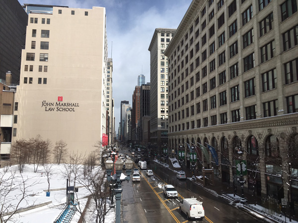 <div class='meta'><div class='origin-logo' data-origin='WLS'></div><span class='caption-text' data-credit=''>Several inches of fresh snow blanketed downtown Chicago on March 14, 2017..</span></div>