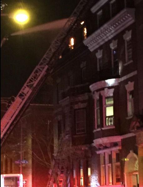 <div class='meta'><div class='origin-logo' data-origin='none'></div><span class='caption-text' data-credit='WPVI Photo/ Justin Watt/CAjbwatt/Twitter'>A multi-alarm fire broke out in Center City Philadelphia on Tuesday, January 19, 2016.</span></div>