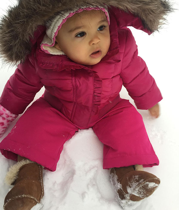 """<div class=""""meta image-caption""""><div class=""""origin-logo origin-image none""""><span>none</span></div><span class=""""caption-text"""">Ten-month-old Skylar is pretty in pink with a snowy backdrop. (Action News Viewer )</span></div>"""