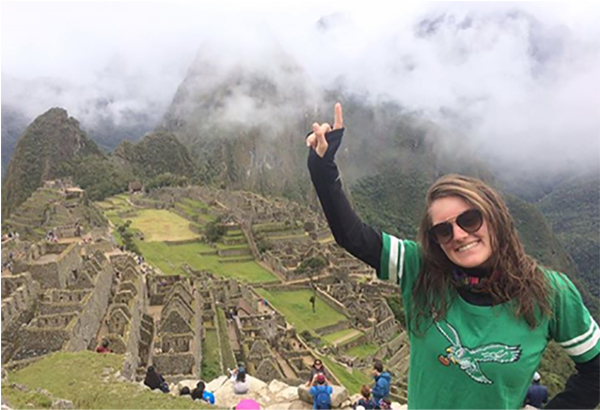 "<div class=""meta image-caption""><div class=""origin-logo origin-image wpvi""><span>WPVI</span></div><span class=""caption-text"">Watching the Eagles in Peru! Keep cheering Lydia Crouthamel! - From /jennifer.cousinscrouthamel on Facebook.</span></div>"