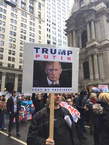 <div class='meta'><div class='origin-logo' data-origin='none'></div><span class='caption-text' data-credit=''>Pictured: Protesters in Philadelphia during President Donald Trump's visit to address GOP leaders on Thursday, January 26.</span></div>