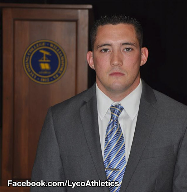 <div class='meta'><div class='origin-logo' data-origin='none'></div><span class='caption-text' data-credit='Lycoming College'>Pictured: New Jersey State Police Trooper Sean Cullen, who died in the line of duty on Tuesday, March 8, 2016.</span></div>
