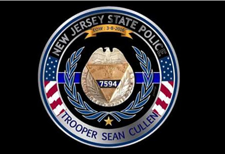 <div class='meta'><div class='origin-logo' data-origin='none'></div><span class='caption-text' data-credit='New Jersey State Police'>A New Jersey State Police tribute to Trooper Sean Cullen.</span></div>