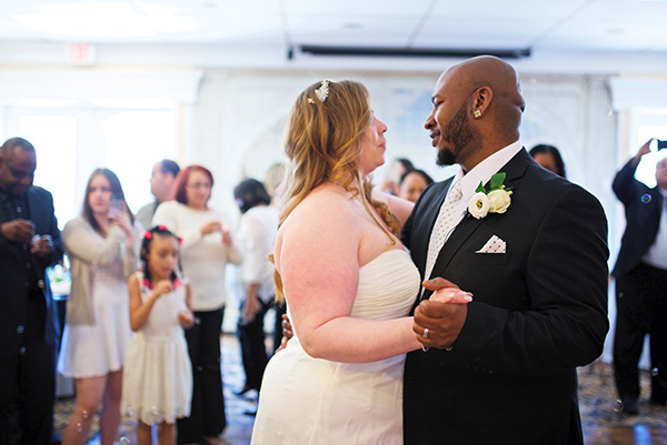 <div class='meta'><div class='origin-logo' data-origin='none'></div><span class='caption-text' data-credit='Abigail Gingeral Photography'>Pictured: The wedding of Erica and Darrell Meyers, photographed by Abigail Gingerale Photography.</span></div>