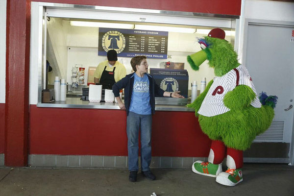 <div class='meta'><div class='origin-logo' data-origin='none'></div><span class='caption-text' data-credit='ABC Photo/ ABC/Adam Rose'>While attending a Phillies baseball game (at a recreated Veterans Stadium), Murray says Adam is old enough to leave his seat on his own on &#34;The Goldbergs&#34; Wednesday at 8:30pm.</span></div>