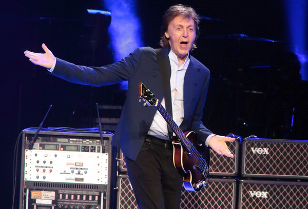 "<div class=""meta image-caption""><div class=""origin-logo origin-image ap""><span>AP</span></div><span class=""caption-text"">Paul McCartney performs in concert during his ""Out There Tour 2015"" at the Wells Fargo Center on Sunday, June 21, 2015, in Philadelphia. (Photo by Owen Sweeney/Invision/AP)</span></div>"