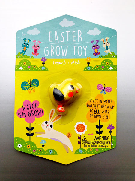 "<div class=""meta image-caption""><div class=""origin-logo origin-image none""><span>none</span></div><span class=""caption-text"">Easter Grow Toy - Chick (Target)</span></div>"