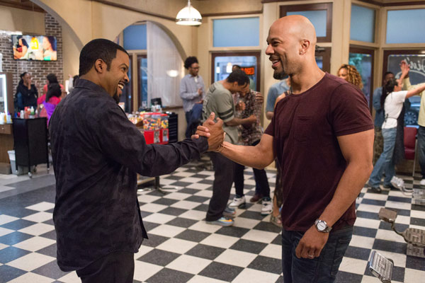 "<div class=""meta image-caption""><div class=""origin-logo origin-image ap""><span>AP</span></div><span class=""caption-text"">In this image released by Warner Bros., Ice Cube, left, and Common appear in a scene from ""Barbershop: The Next Cut."" (Chuck Zlotnick/Warner Bros. via AP)</span></div>"