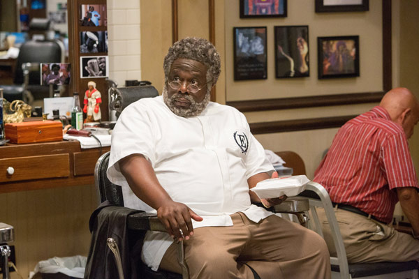 "<div class=""meta image-caption""><div class=""origin-logo origin-image ap""><span>AP</span></div><span class=""caption-text"">In this image released by Warner Bros., Cedric The Entertainer appears in a scene from ""Barbershop: The Next Cut."" (Chuck Zlotnick/Warner Bros. via AP)</span></div>"