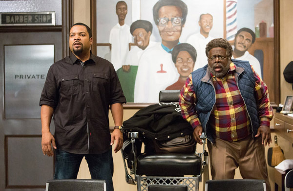 "<div class=""meta image-caption""><div class=""origin-logo origin-image ap""><span>AP</span></div><span class=""caption-text"">In this image released by Warner Bros., Ice Cube, left, and Cedric The Entertainer appear in a scene from ""Barbershop: The Next Cut."" (Chuck Zlotnick/Warner Bros. via AP)</span></div>"