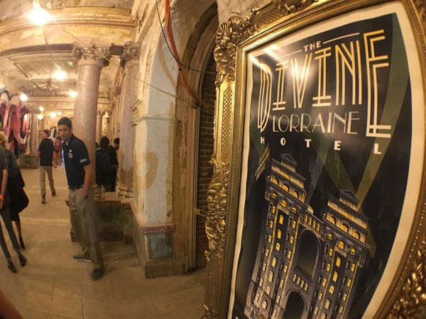 "<div class=""meta image-caption""><div class=""origin-logo origin-image wpvi""><span>WPVI</span></div><span class=""caption-text"">The historic Divine Lorraine Hotel on N. Broad Street opened its doors to the public for a look inside. (Dan Sheridan)</span></div>"