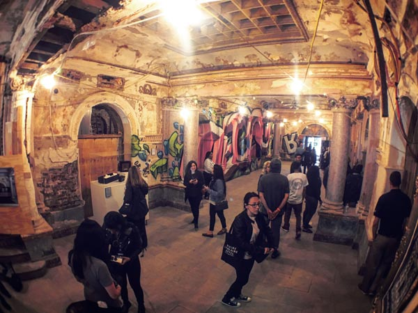 <div class='meta'><div class='origin-logo' data-origin='WPVI'></div><span class='caption-text' data-credit='Dan Sheridan'>The historic Divine Lorraine Hotel on N. Broad Street opened its doors to the public for a look inside.</span></div>