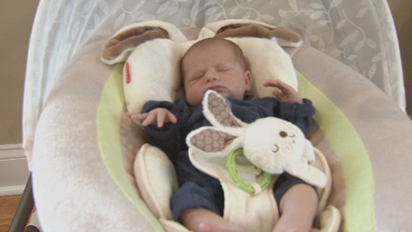 Action News caught up with Jamie Apody, her husband Paul, baby Chase and big brother Tanner!