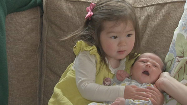 Action News caught up with Nydia Han, her husband Dennis, baby Harrison and big sister Sabine!