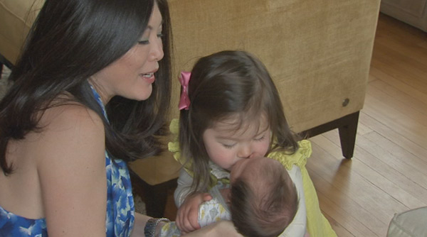 "<div class=""meta ""><span class=""caption-text "">Action News caught up with Nydia Han, her husband Dennis, baby Harrison and big sister Sabine!</span></div>"