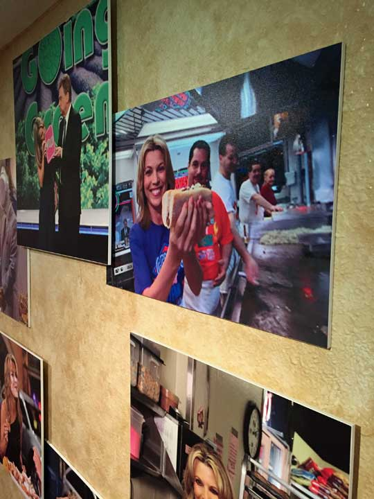 <div class='meta'><div class='origin-logo' data-origin='WPVI'></div><span class='caption-text' data-credit=''>Wheel of Fortune's &#34;wall of fame&#34; includes a photo of Vanna visiting Philly's famous Geno's Steaks!</span></div>