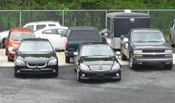 "<div class=""meta image-caption""><div class=""origin-logo origin-image none""><span>none</span></div><span class=""caption-text"">Pictured: Vehicles seized in the operation</span></div>"