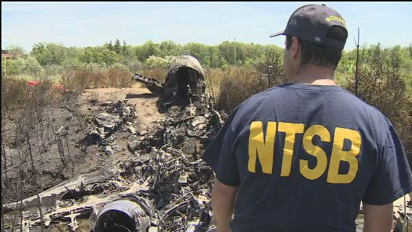 Pictured: The scene of a plane crash that killed Philadelphia Inquirer co-owner Lewis Katz and 6 other in Massachusetts. <span class=meta></span>