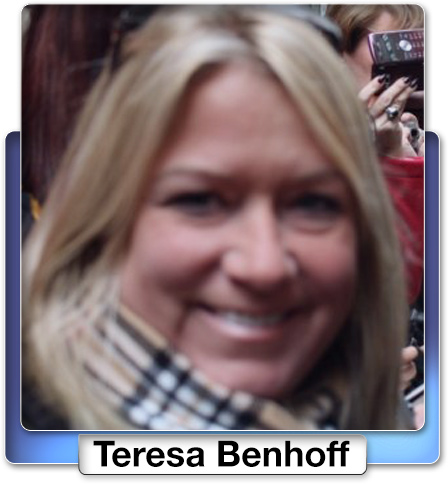 Teresa Ann Benhoff, 48, a flight crew member from Easton, Maryland.