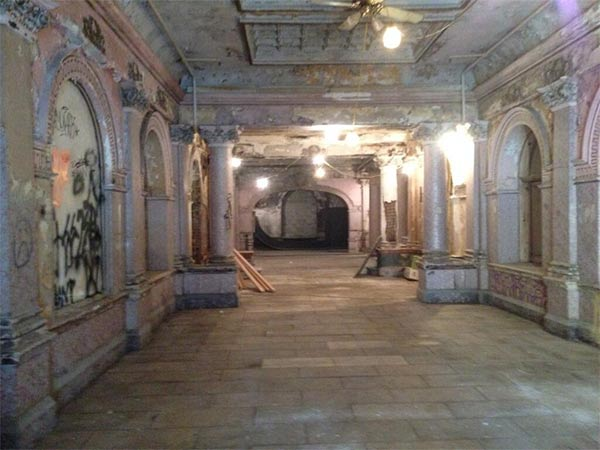 <div class='meta'><div class='origin-logo' data-origin='none'></div><span class='caption-text' data-credit=''>Action News got a peek inside the landmark Divine Lorraine Hotel where there are hopes to restore it to its former glory.</span></div>
