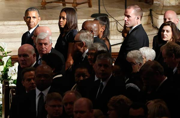 """<div class=""""meta image-caption""""><div class=""""origin-logo origin-image ap""""><span>AP</span></div><span class=""""caption-text"""">President Barack Obama, first lady Michelle Obama, and others attend funeral services for Beau Biden. (Yuri Gripas/Pool Photo via)</span></div>"""