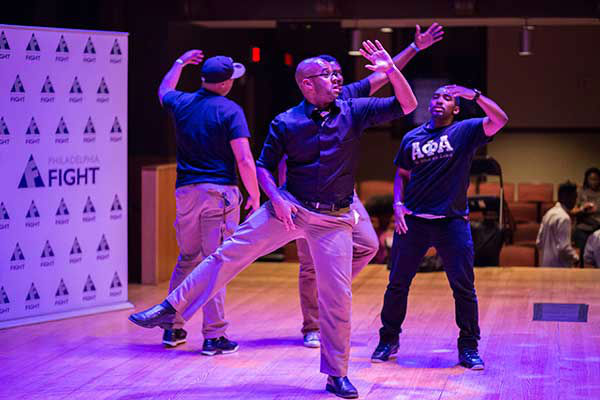 "<div class=""meta image-caption""><div class=""origin-logo origin-image ""><span></span></div><span class=""caption-text"">Pictured: The Delta Pi Chapter of Alpha Phi Alpha Fraternity, Inc. at Step Up Against AIDS. 20th Anniversary of AIDS Education Month.  (Photo/Holly E Clark)</span></div>"