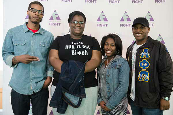 "<div class=""meta image-caption""><div class=""origin-logo origin-image ""><span></span></div><span class=""caption-text"">Pictured: Courtney Williams, Michelle Green, Aliyyah Hoke, and David Chaney at Step Up Against AIDS. 20th Anniversary of AIDS Education Month. (Photo/Holly E Clark)</span></div>"