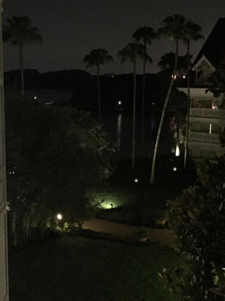 <div class='meta'><div class='origin-logo' data-origin='none'></div><span class='caption-text' data-credit='Twitter / Chris Pekula'>Authorities search for a child who was dragged into the water by an alligator near Disney's Grand Floridian Resort & Spa in Orlando.</span></div>