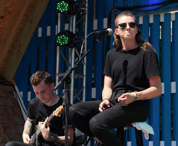 "<div class=""meta image-caption""><div class=""origin-logo origin-image ap""><span>AP</span></div><span class=""caption-text"">Alex Babinski, left, and Lyndsey Gunnulfsen of Pvris- performs on Day 3 of the 2016 Firefly Music Festival at The Woodlands on Saturday, June 18, 2016, in Dover, Del.  (Photo by Owen Sweeney/Invision/AP)</span></div>"