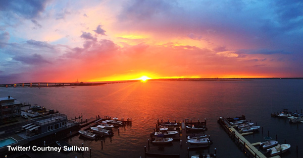 """<div class=""""meta image-caption""""><div class=""""origin-logo origin-image wpvi""""><span>WPVI</span></div><span class=""""caption-text"""">Action News viewers sent in photos of the first sunset of the Summer of 2016.</span></div>"""