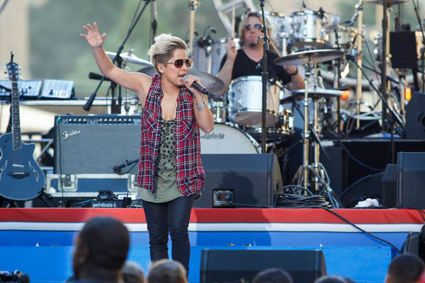 Vicci Martinez performs at the Philly 4th of July Jam in Philadelphia on Friday, July 4, 2014.  <span class=meta>(Photo&#47;Mark Stehle)</span>