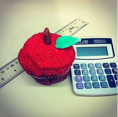 Red Delicious Cupcake <span class=meta>Pinterest</span>